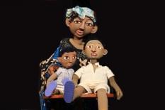 La mère et ses deux fils