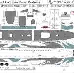 Free Cardstock Paper Model World War 2 Ii Warships