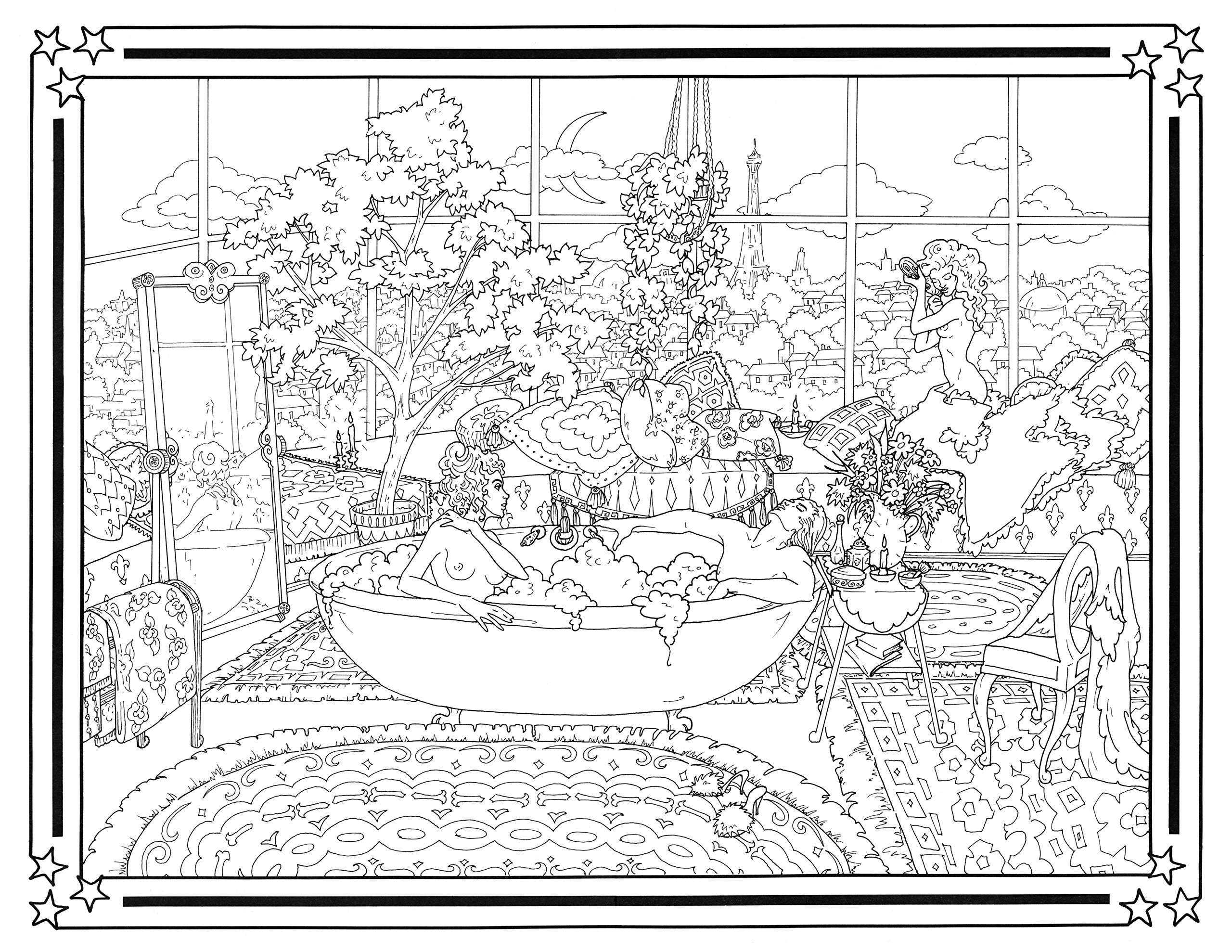 Outlander Coloring Book - The Cobalt Jade Website