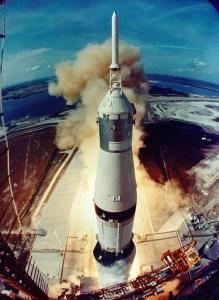 Apollo 11 moon rocket