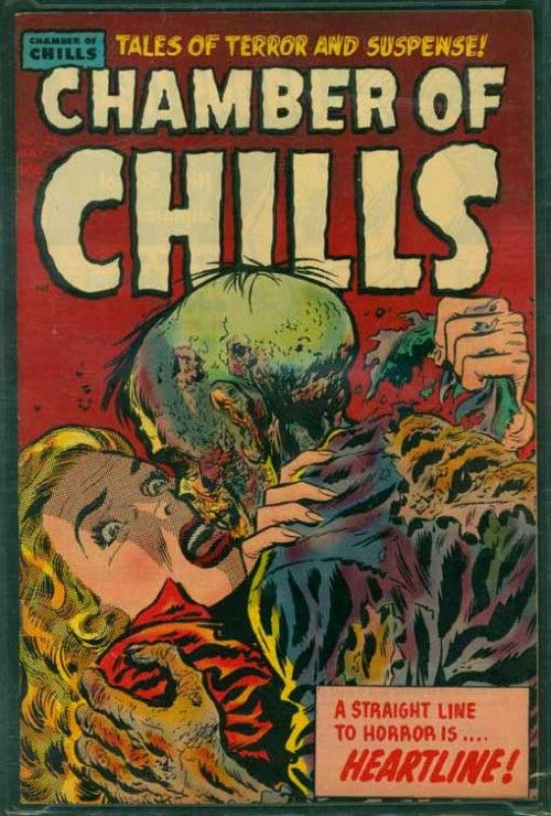chamber of chills, 1950s horror comic