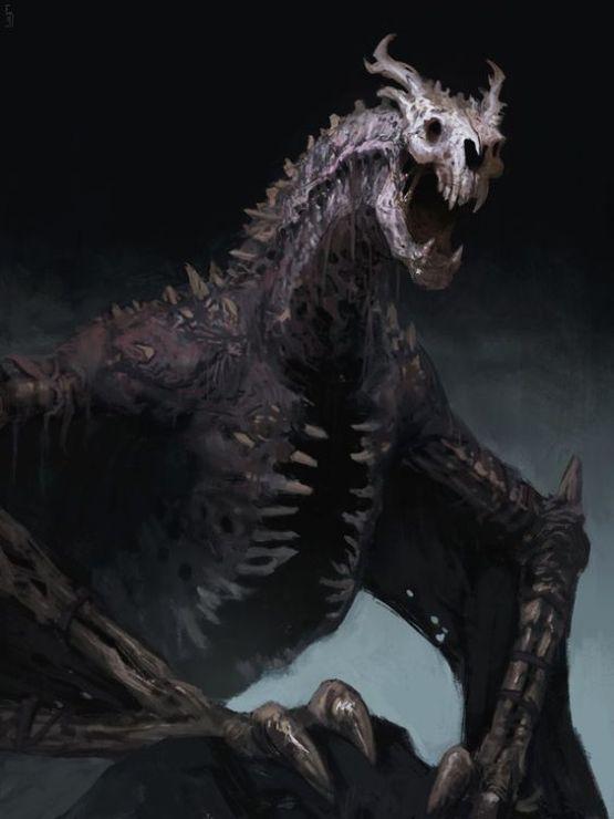 Undead dragon, or dracolich
