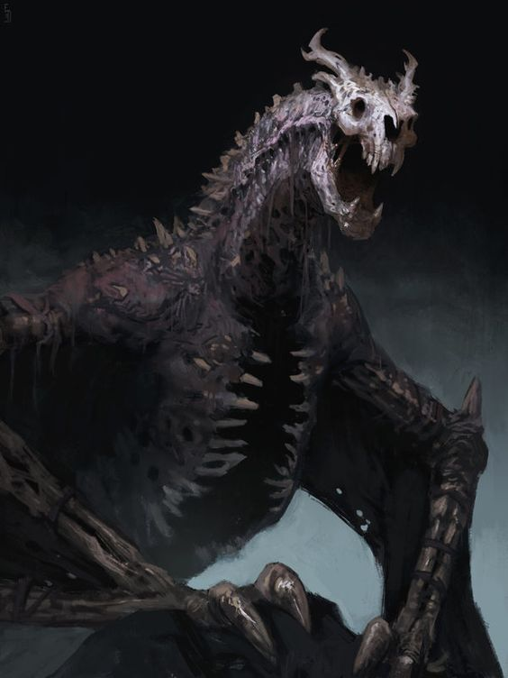 Undead dragon, or dracolich