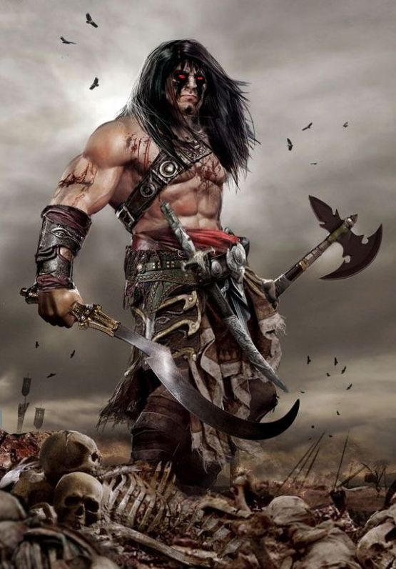 A Barbarian ponders some imminent worldbuilding. (conan_the_barbarian_by_uncannyknack-d5y8z00.jpg)