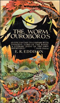 The Worm Ouroboros, 1967 Ballantine edition, artowork by Barbara Remington