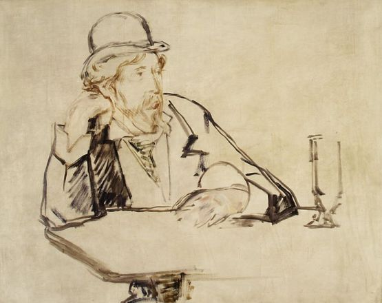 Writer George Moore, by Edward Manet