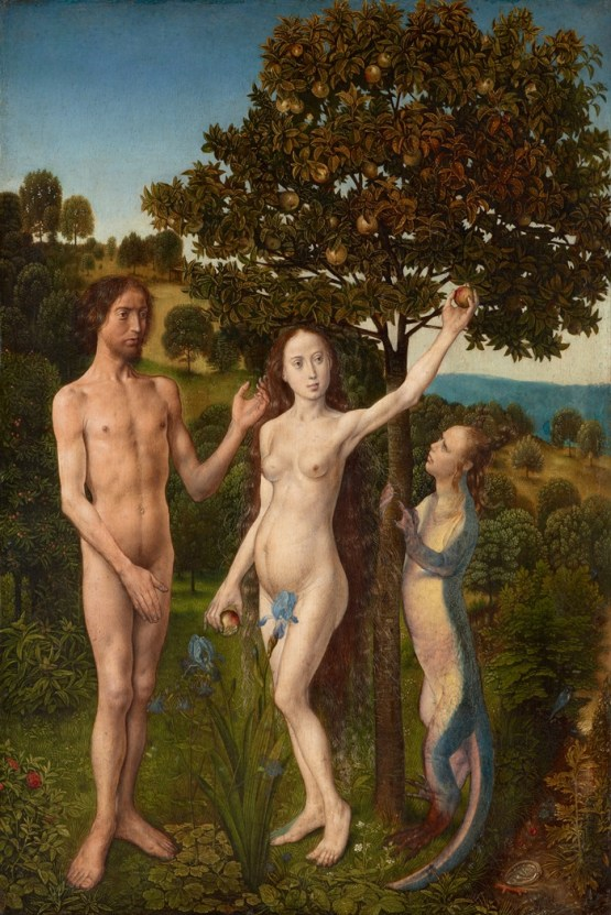Hugo van der Goes, The Fall of Man and The Lamentation