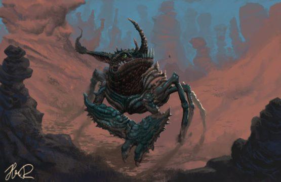 Dragon Crab, by Djingo