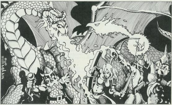 Artwork by original TSR artist Erol Otis