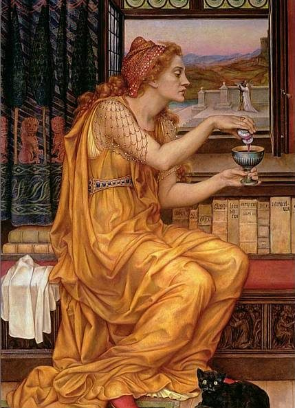 the love potion, by evelyn de morgan