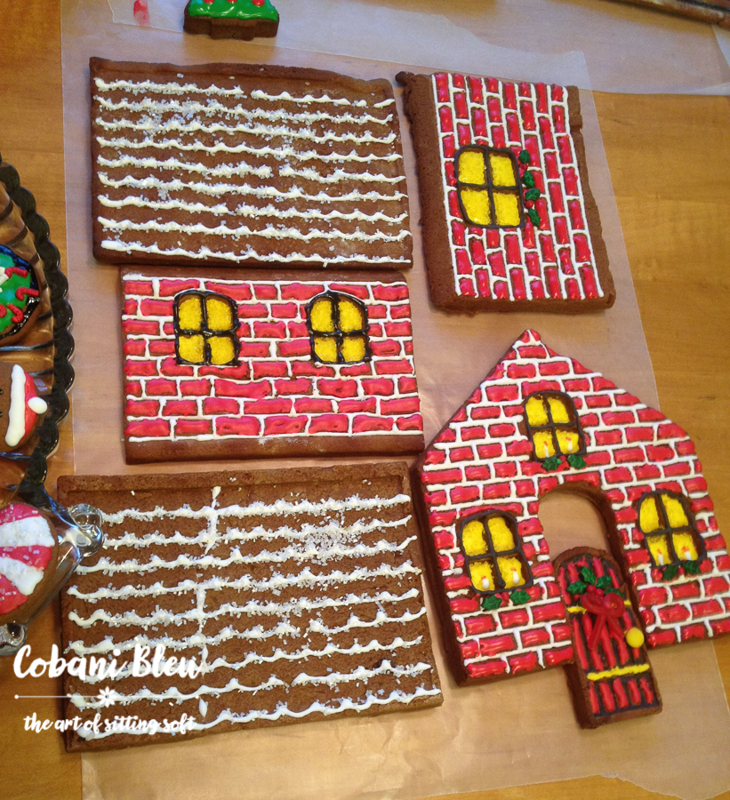 Gingerbread houses in the works