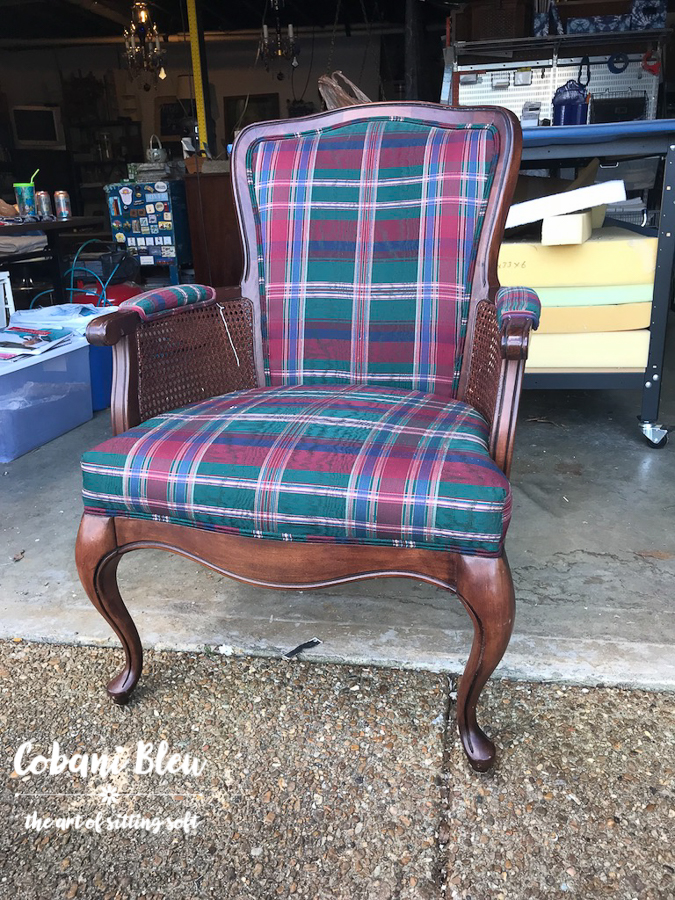 French Farmhouse Chair Before