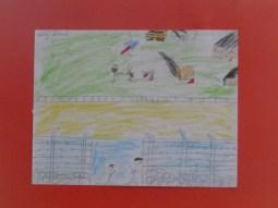 alcuni disegni della mostra