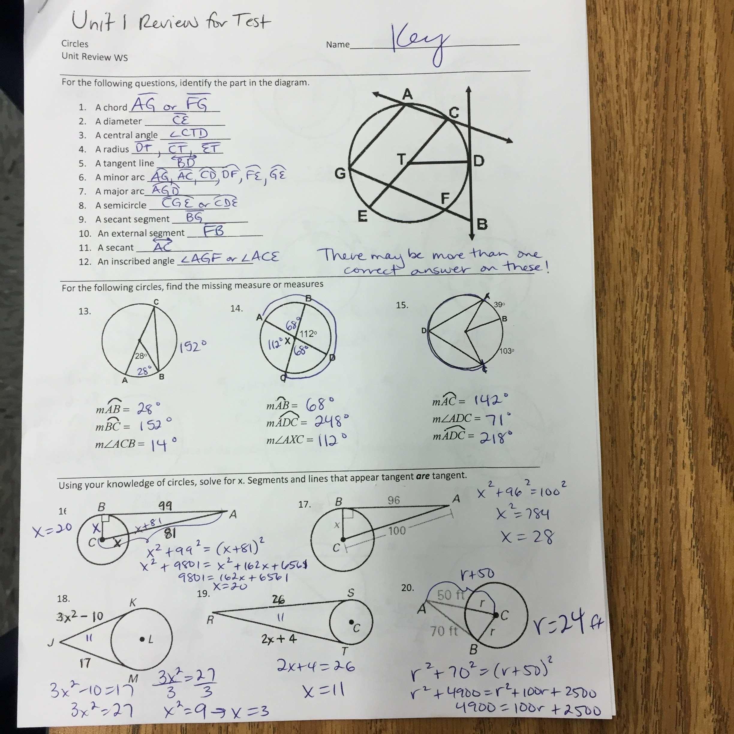 Common Core Geometric Shapes Worksheet