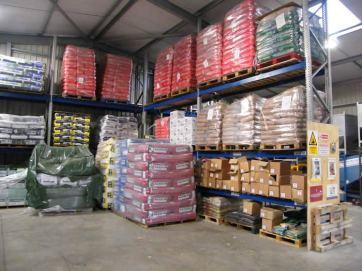 New feed warehouse