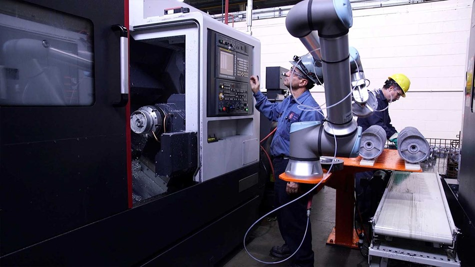 RCM Industries keeps jobs in the U.S. with help from UR10e cobot fleet