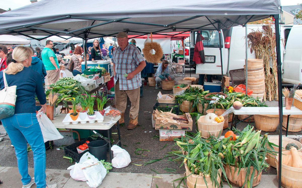 Harvest Festival 2017 - Farmer's Market vendor
