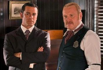 Detective William Murdoch and Inspector Brackenreid