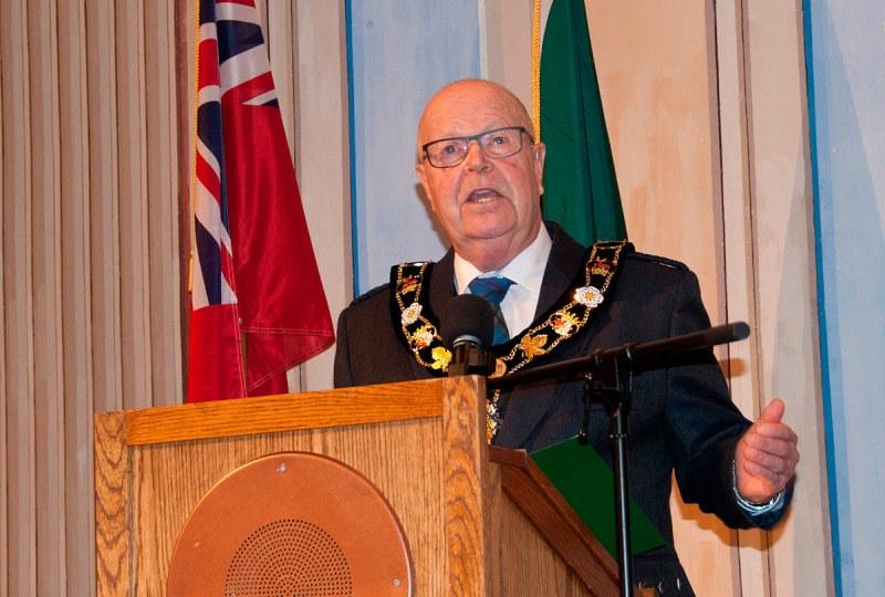Mayor Gil Brocanier