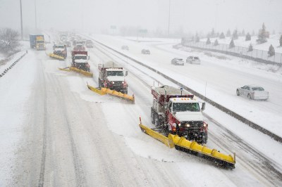 Snow Plows in Toronto
