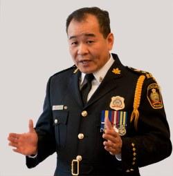 Police Chief Kai Liu