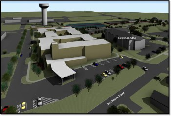 GPL - Concept Birds Eye View from Southwest