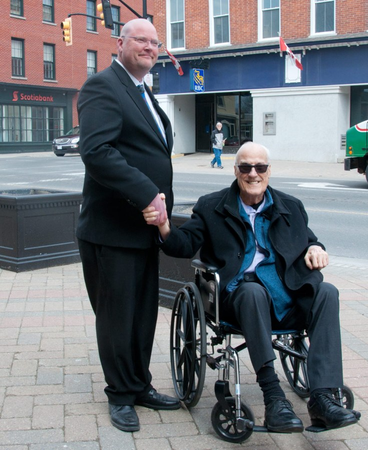 Adam Bureau with Bill Patchett