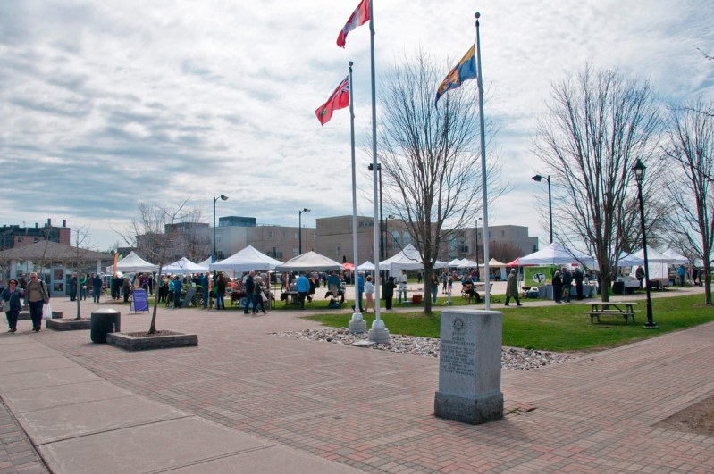 Farmers Market in Rotary Park