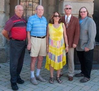 John Henderson campaign team