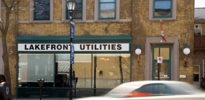 Lakefront Utilities Office on Division St.