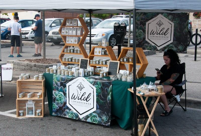 Art Walk - Vendor Booth - 25 Aug 2018