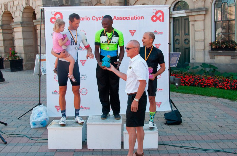 Criterium Cobourg - Winners - first race, second category