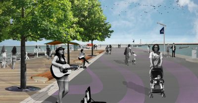 East Pier - proposed by Waterfront Plan