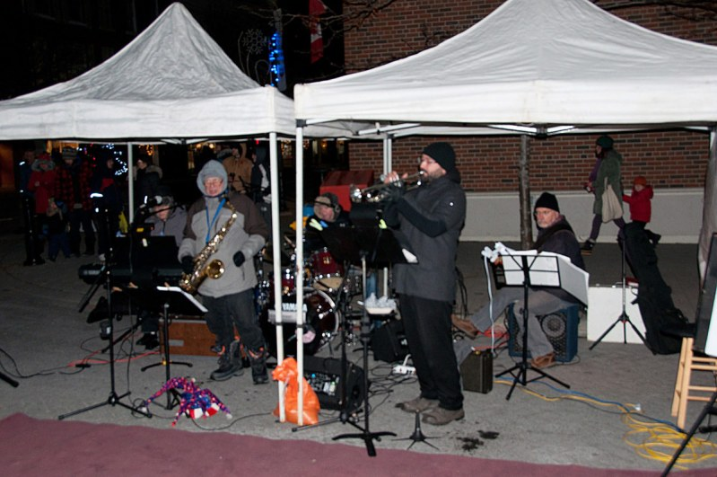 Entertainment Band on Second Street