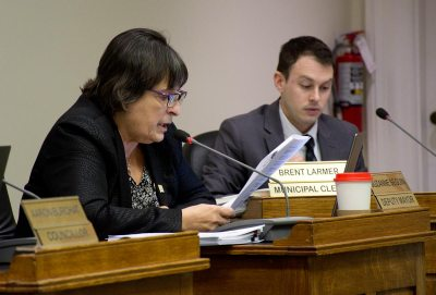 D.M. Suzanne Seguin leading review of Procedure