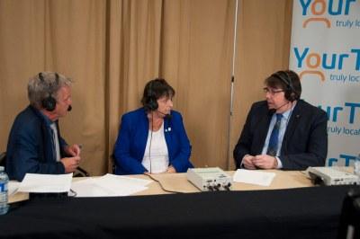 Suzanne Seguin interviewed by Cogeco