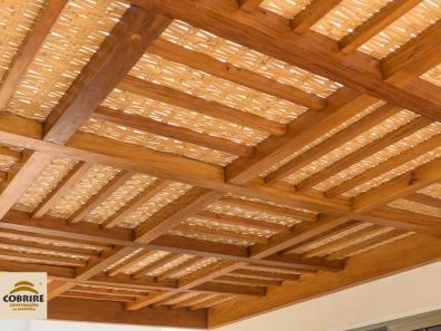 Pergolado madeira cobertura forro bambu preco modelos cobrire campinas