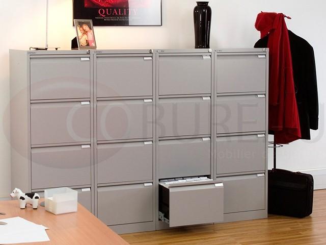 classeur metallique format commercial 4 tiroirs