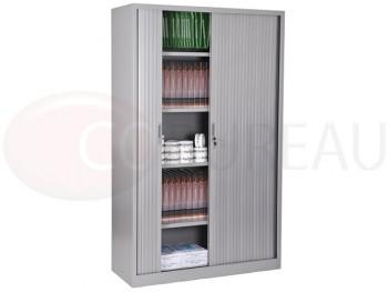 armoire a rideaux hauteur 200 cm aluminium