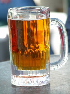 A nice glass of beer