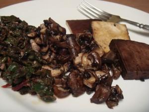 mushroom tofu