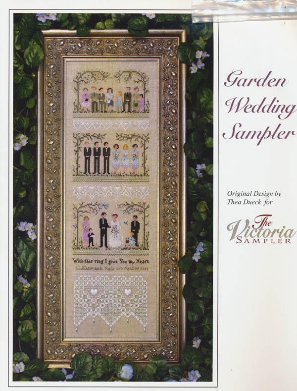 Cross Stitch Kit Together wedding B2284