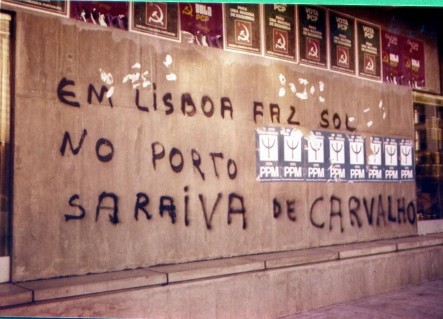em Lisboa faz Sol no Porto Saraiva de Carvalho