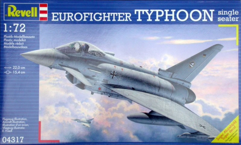 EUROFIGHTER TYPHOON REVELL Revell 1/72