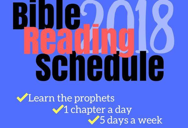 BibleReading2018