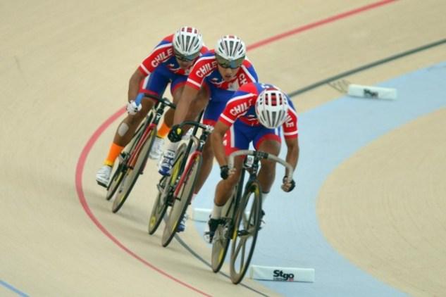 Resultado de imagen para ciclismo pista chile