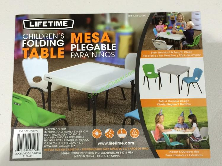 costco 904490 lifetime products kids