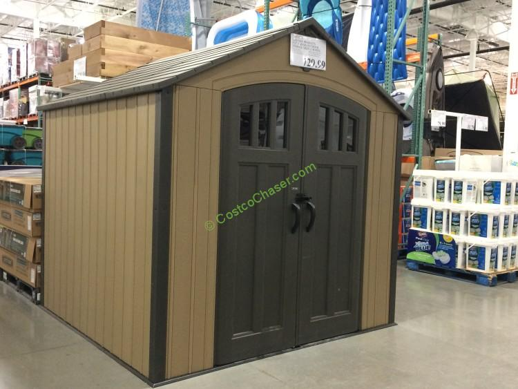 x 7 5 resin outdoor storage shed