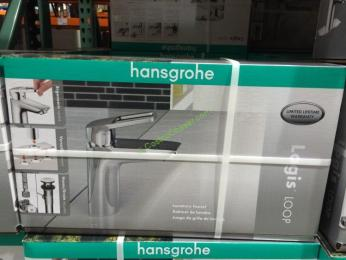 Hansgrohe Logis Loop Single Hole Bathroom Faucet