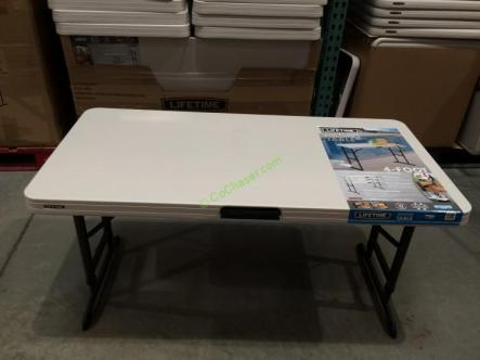 Lifetime Products 4FT X 2 FT Utility Table – CostcoChaser